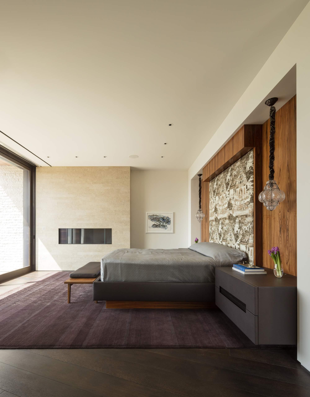 Современная семейная резиденция в стиле модерн, США