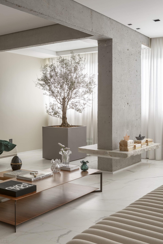 Апартаменты с изысканным динамичным интерьером, Бразилия