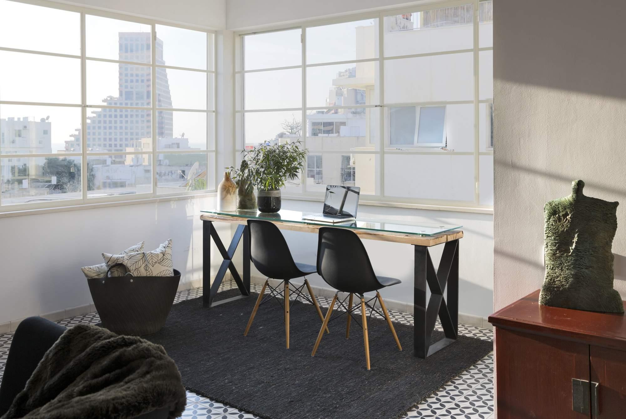 Апартаменты с высокой эстетикой в стиле баухаус, Израиль