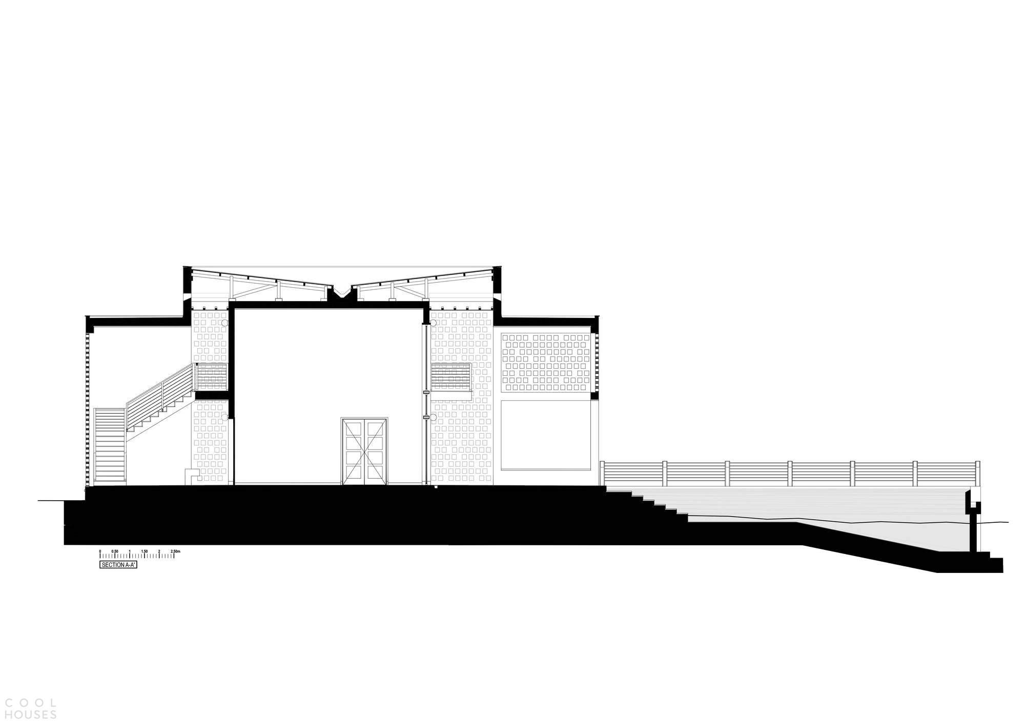 Дом Мбвени с двойными фасадами, Танзания