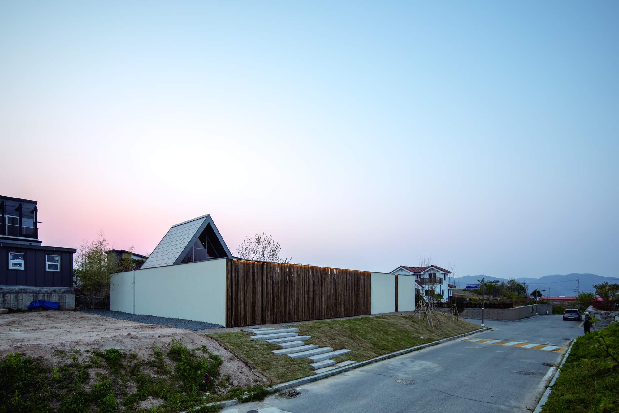 Дом с уникальной пространственной структурой, Южная Корея