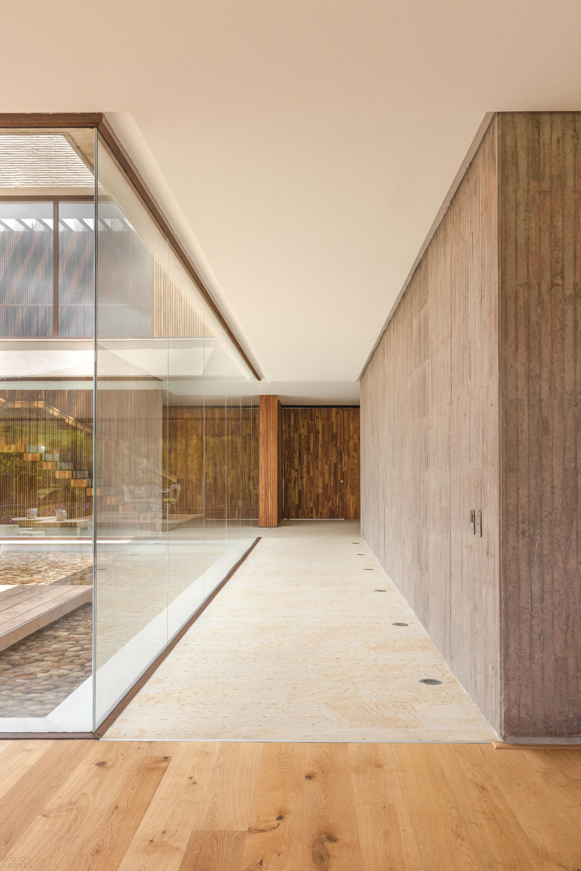 Загородная резиденция с биоклиматическими принципами проектирования