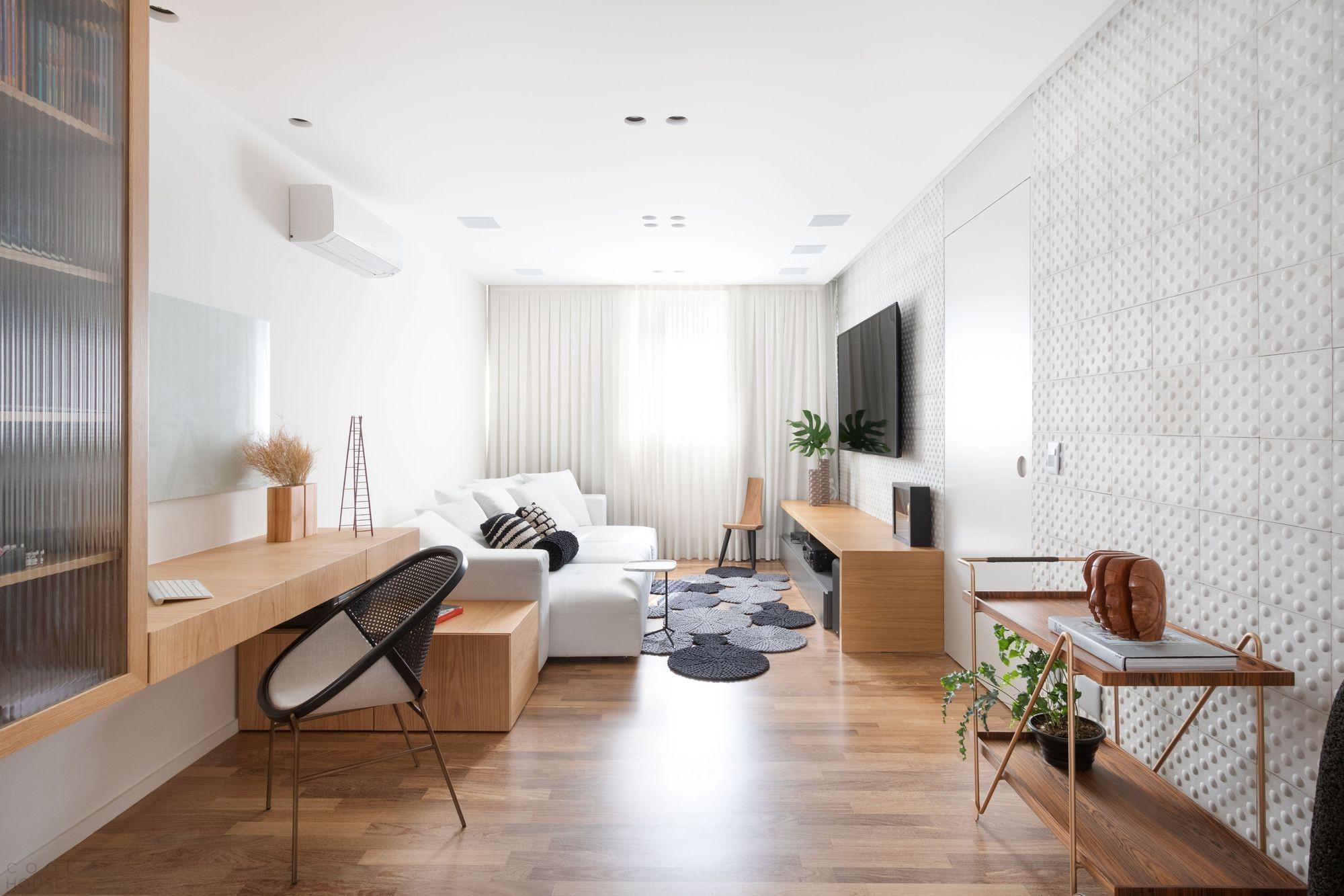 Функциональная квартира с визуальным единством всех пространств