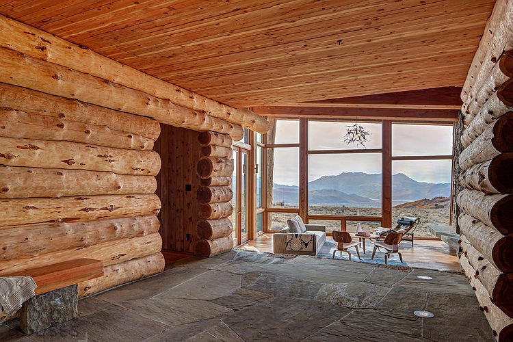 Дизайн шикарного двухэтажного ранчо в штате Юта