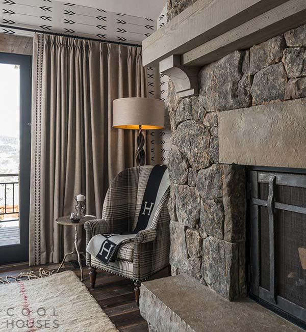 Дом в стиле шале в горнолыжном курорте Big Sky, США