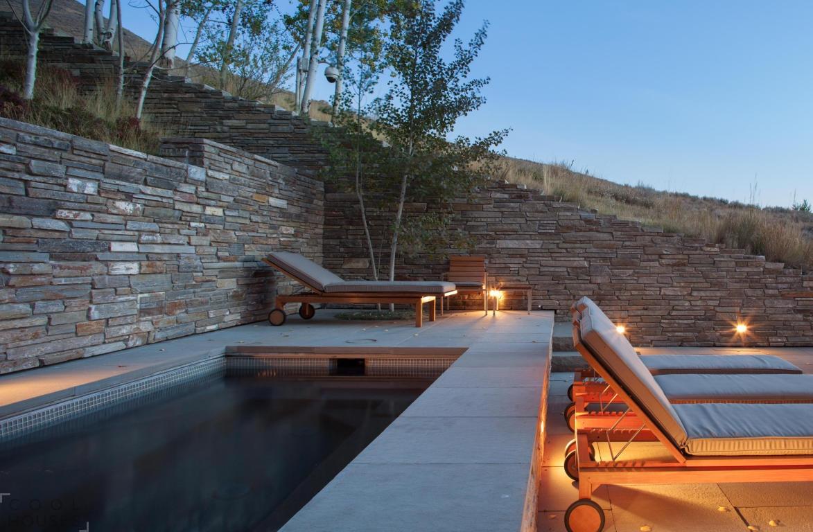 Красивый частный дом в курортном городе Айдахо, США