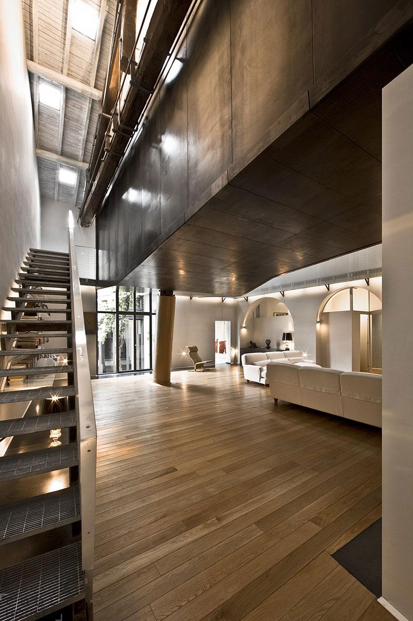Лофт в интерьере квартиры студии MdAA architects
