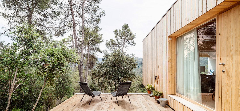 Биоклиматический дом в Испании