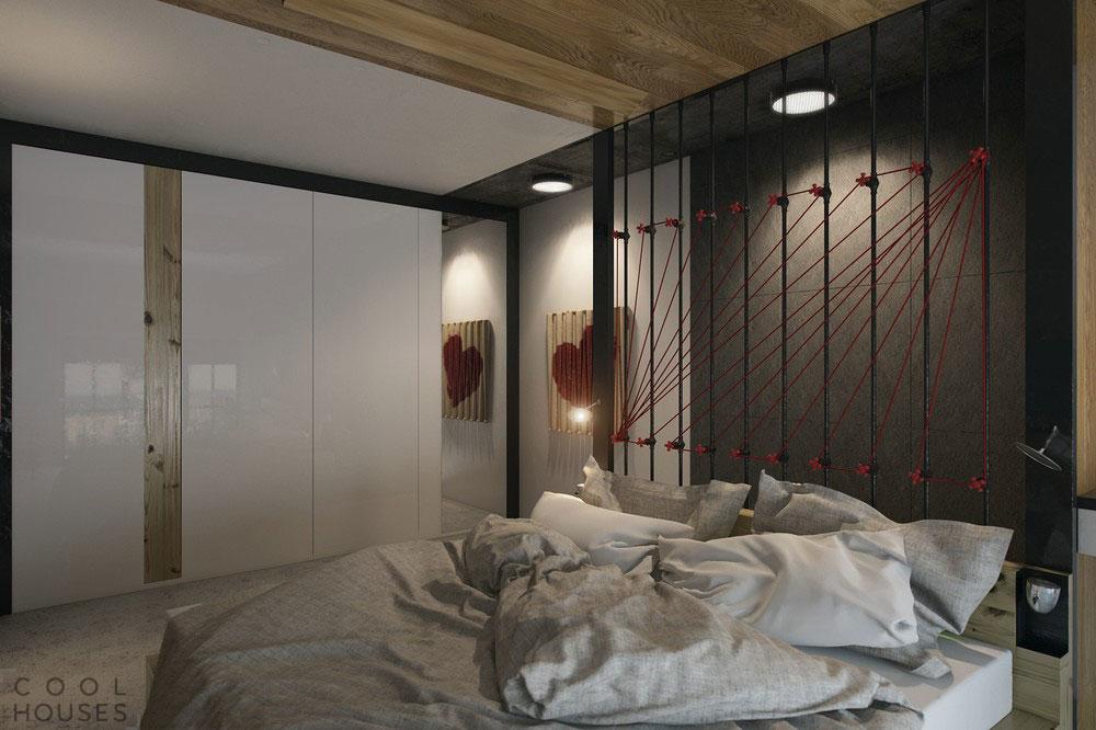 Дизайн в маленькой квартире-студии в Харькове