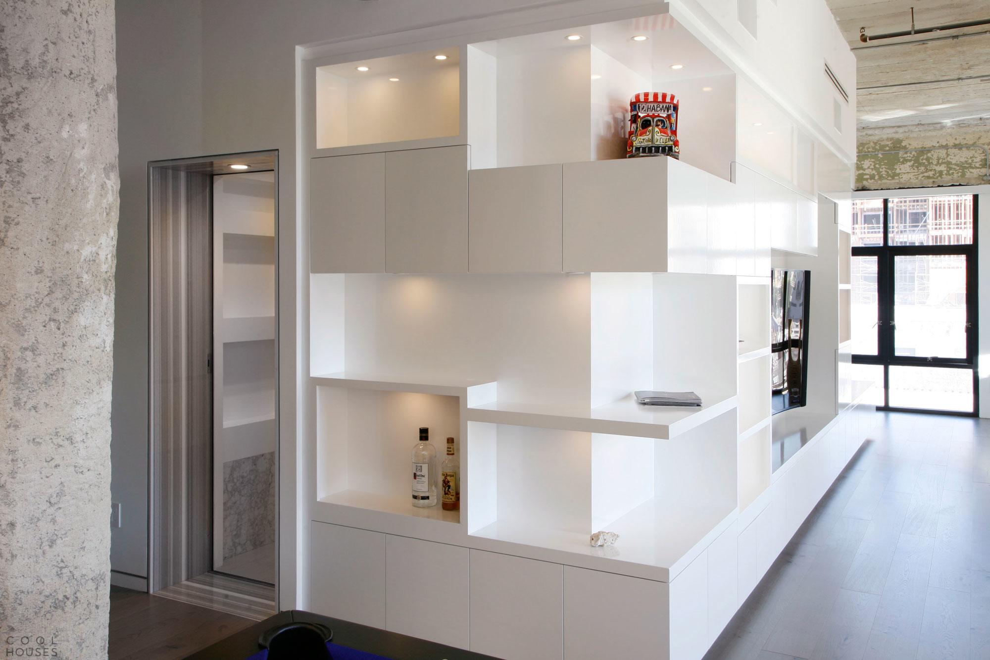 Стиль лофт в квартире, США