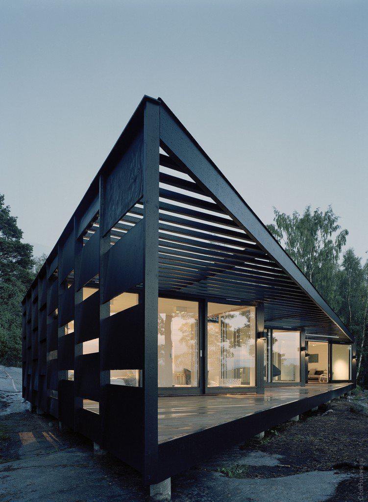 Дом на острове в Швеции