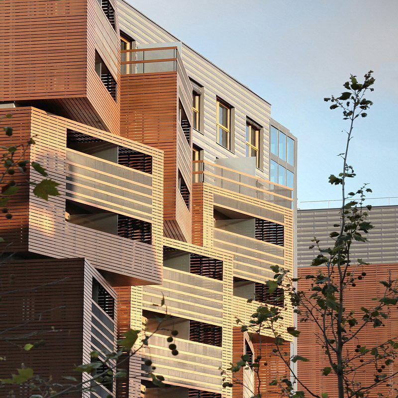 Красивое общежитие в Париже