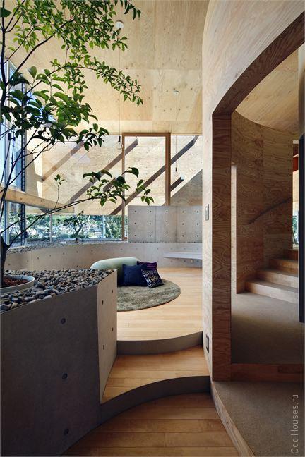 Необычный дом в Японии
