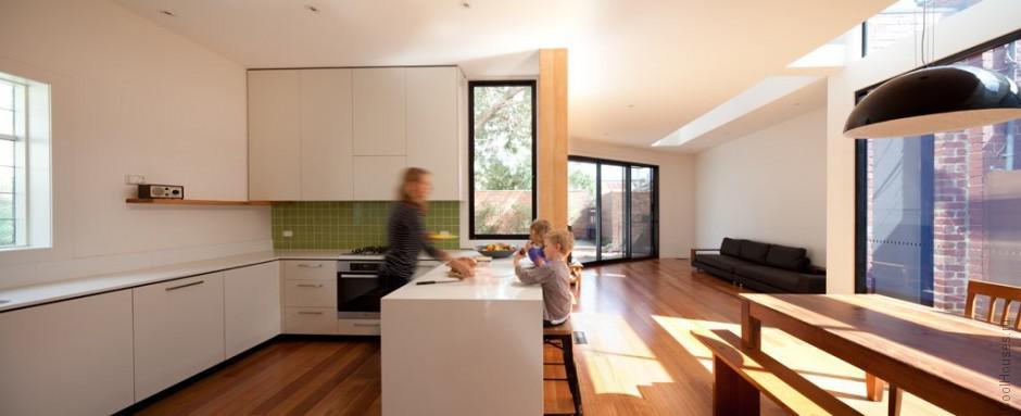 Оригинальная пристройка к дому в Австралии