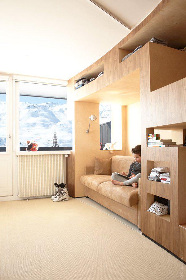 Оригинальные апартаменты во Франции