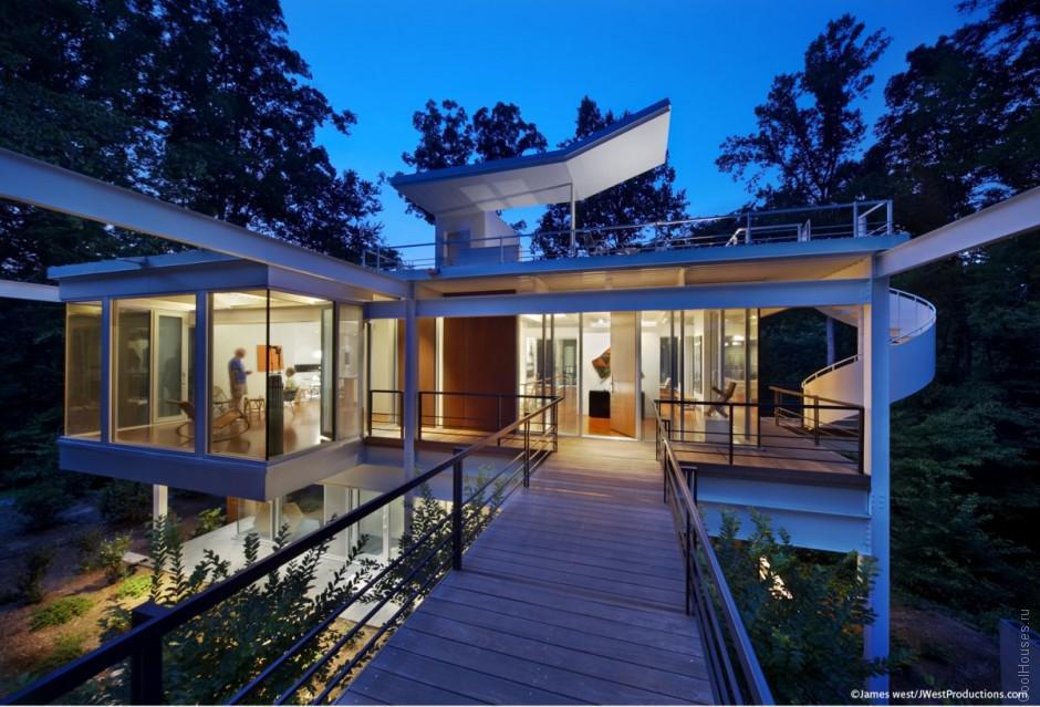 Редизайн дома 1960 года