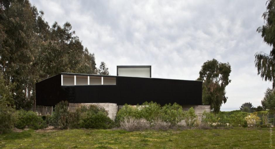 Современная загородная вилла в Чили