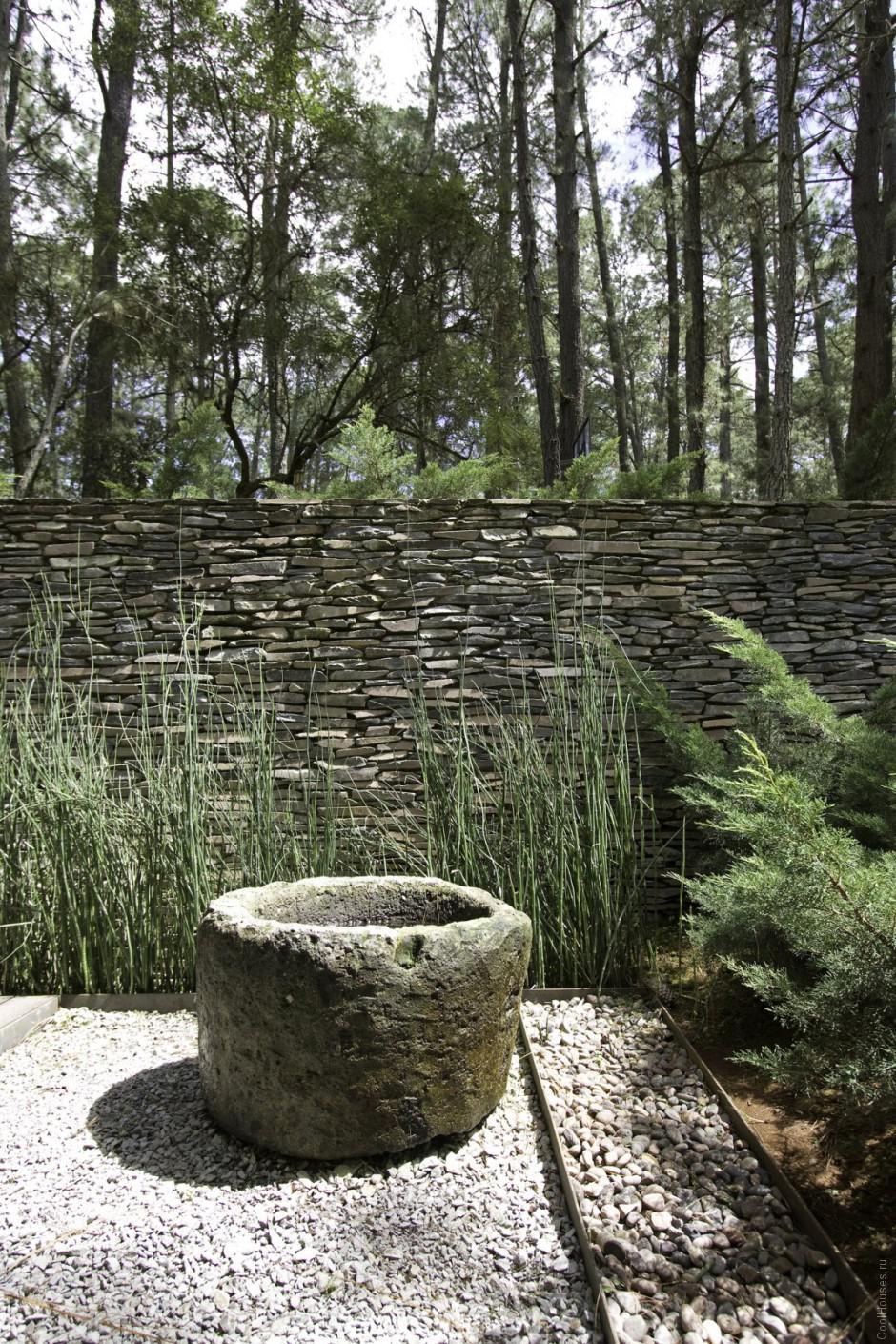 Загородная вилла в лесах Мексики