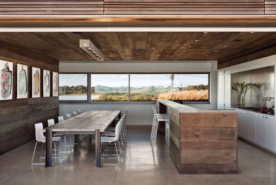 Красивый вариант дизайна дачного дома