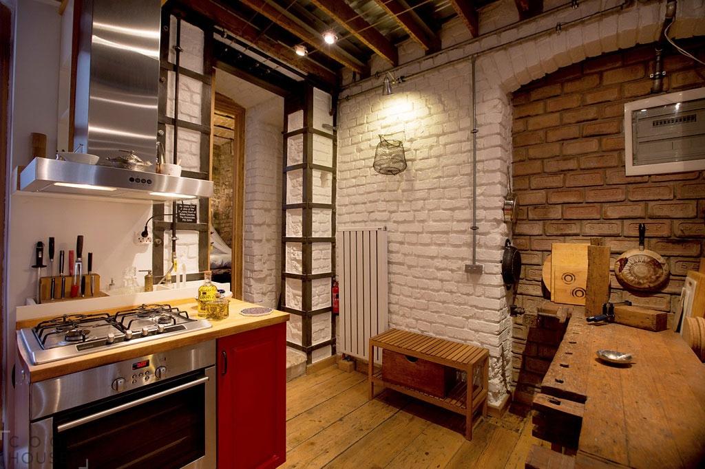 Квартира с очень оригинальным интерьером, Турция