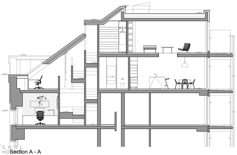 Квартира в стиле лофт от студии B2 Architecture