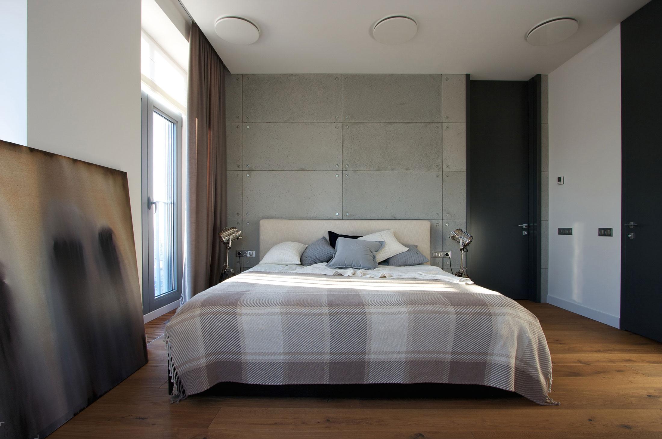 Современная квартира-студия с видом на Днепр