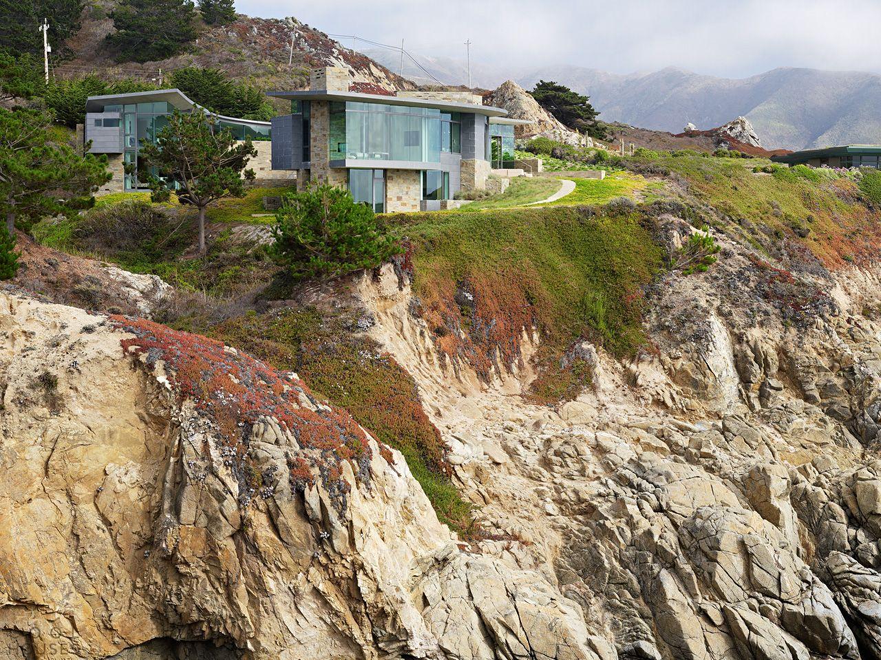 Вилла с видом на океан, Калифорния
