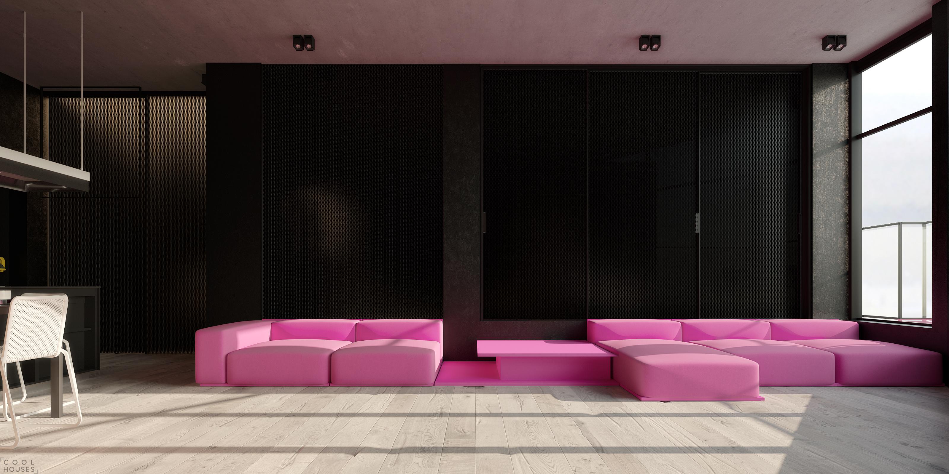 Дизайн небольшой квартиры в Киеве от Игоря Сиротова
