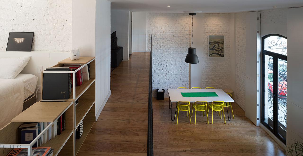 Эффектная квартира в стиле лофт
