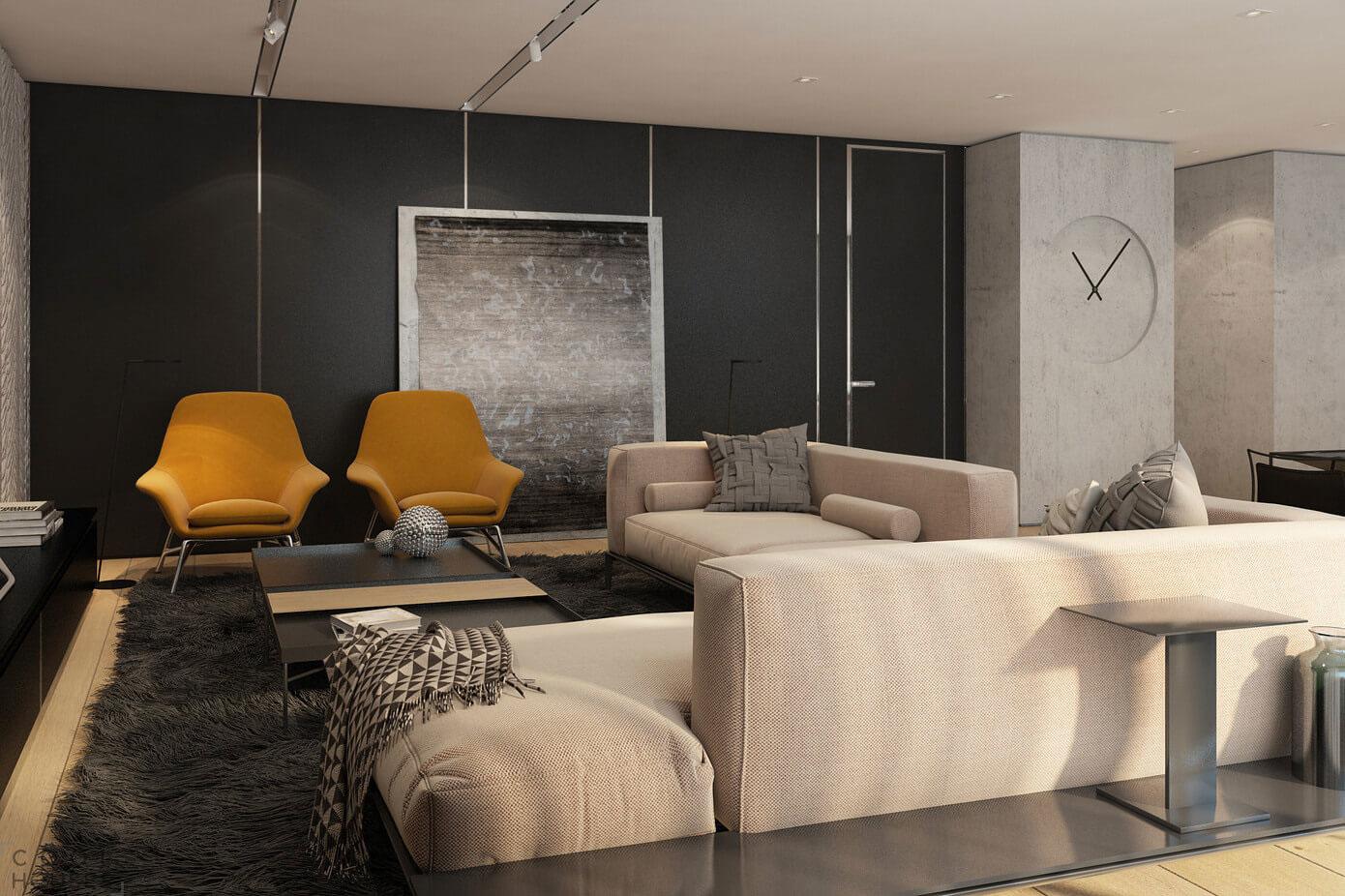 Современная квартира в Тель-Авиве, Израиль
