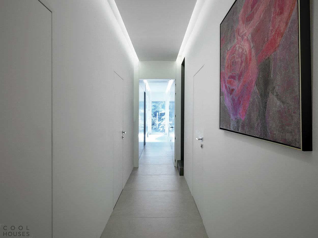 Современный стиль в интерьере дома в Италии