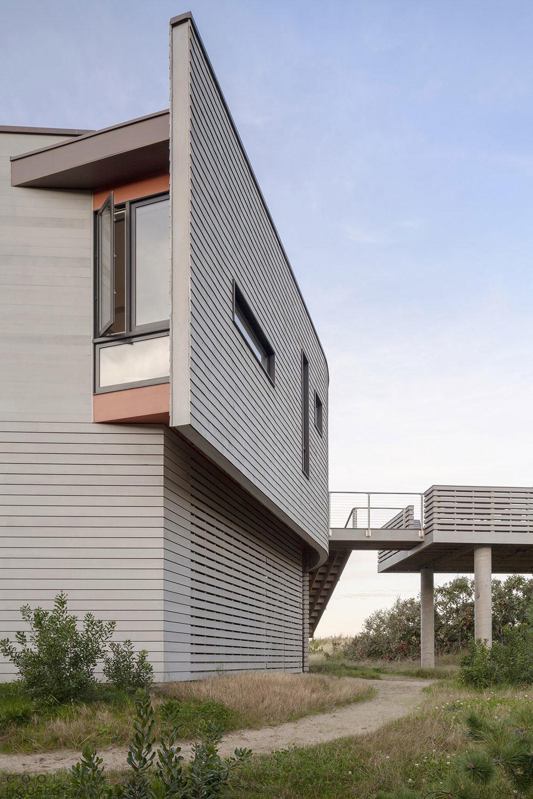 Загородный дом на песчаных дюнах Кейп-Кода, США
