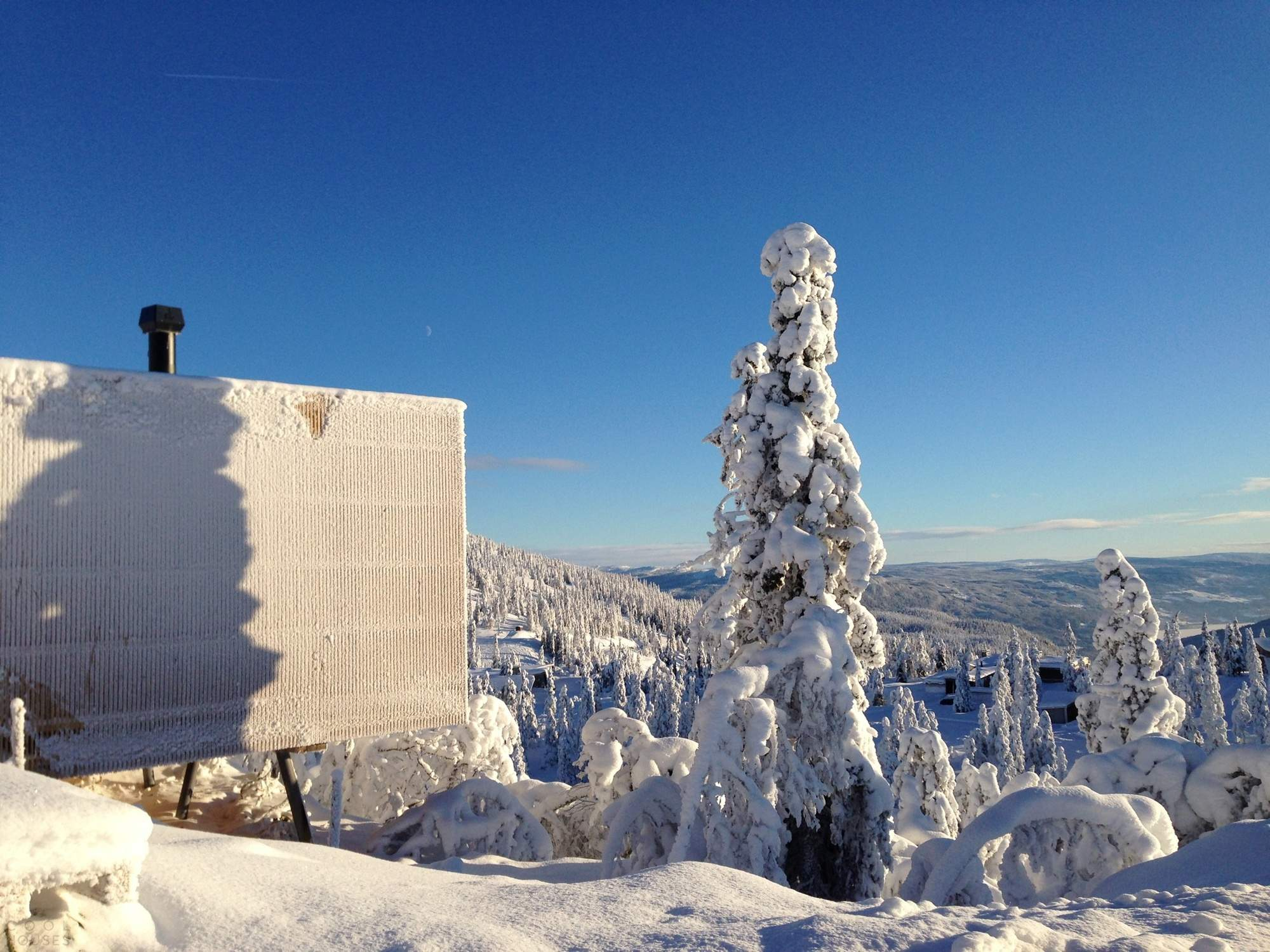 Дом-каюта в горнолыжном курорте Квитфьель, Норвегия