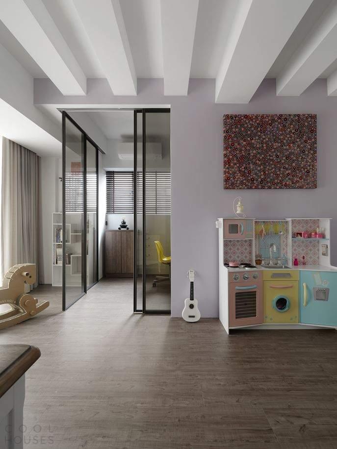 Элегантная квартира от DA CHI International в Тайбэй, Тайвань