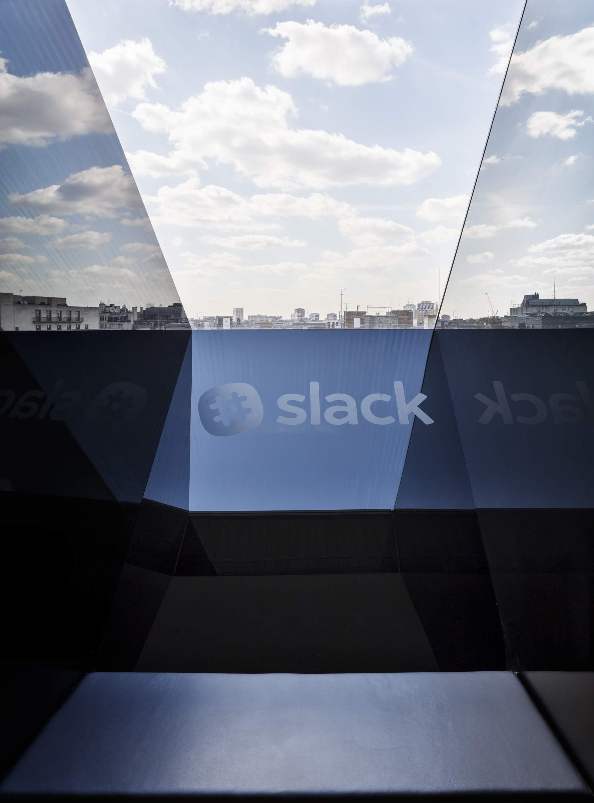 Офис компании Slack в центре столицы Великобритании