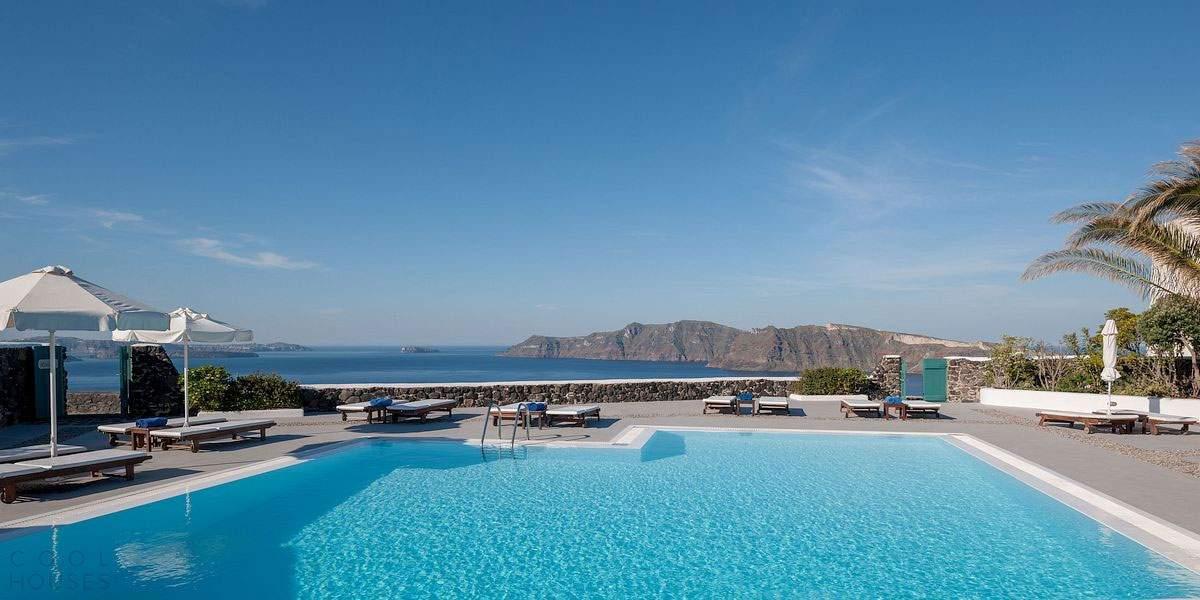 Романтический отель на острове Санторини, Греция