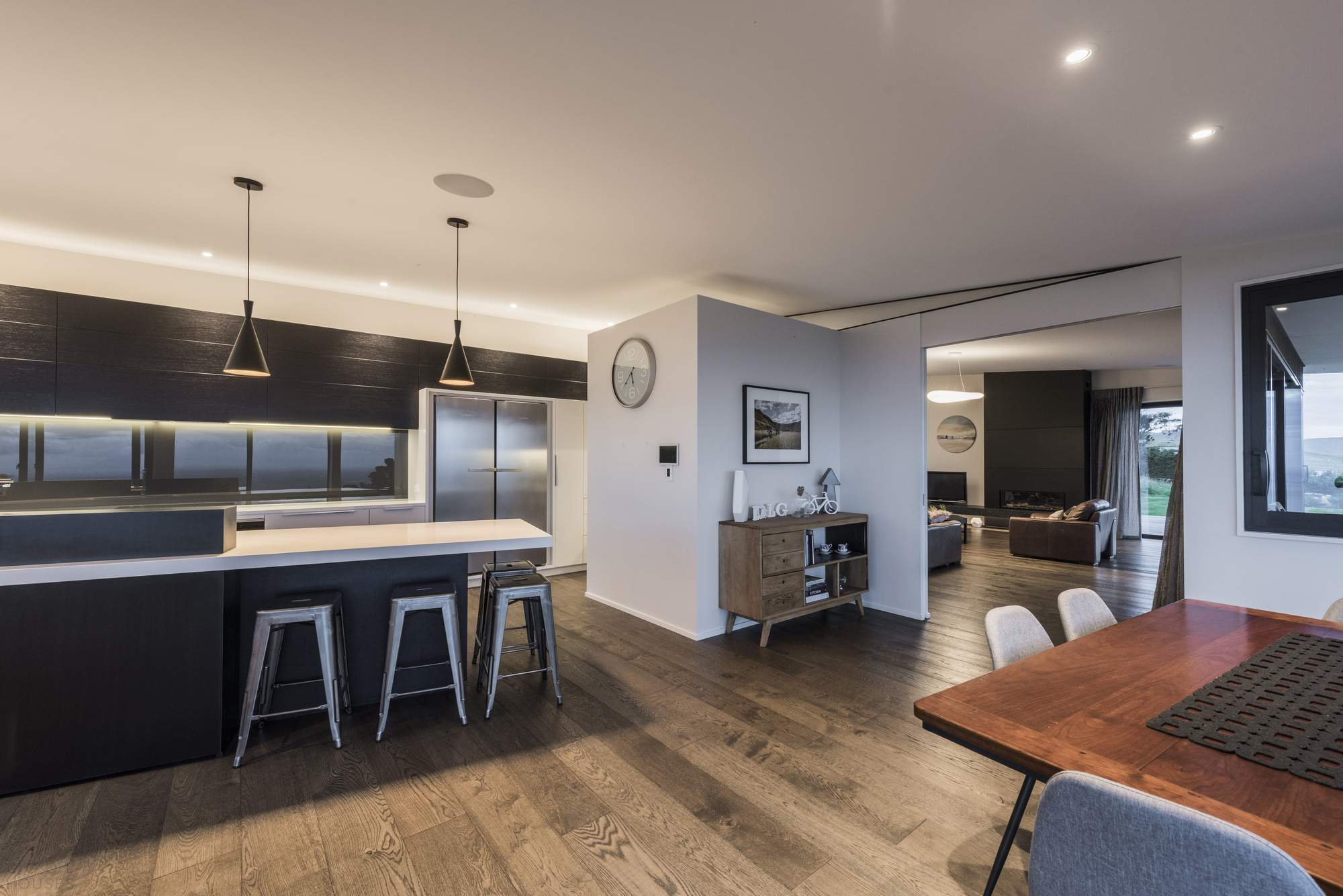 Современный семейный дом в Новой Зеландии