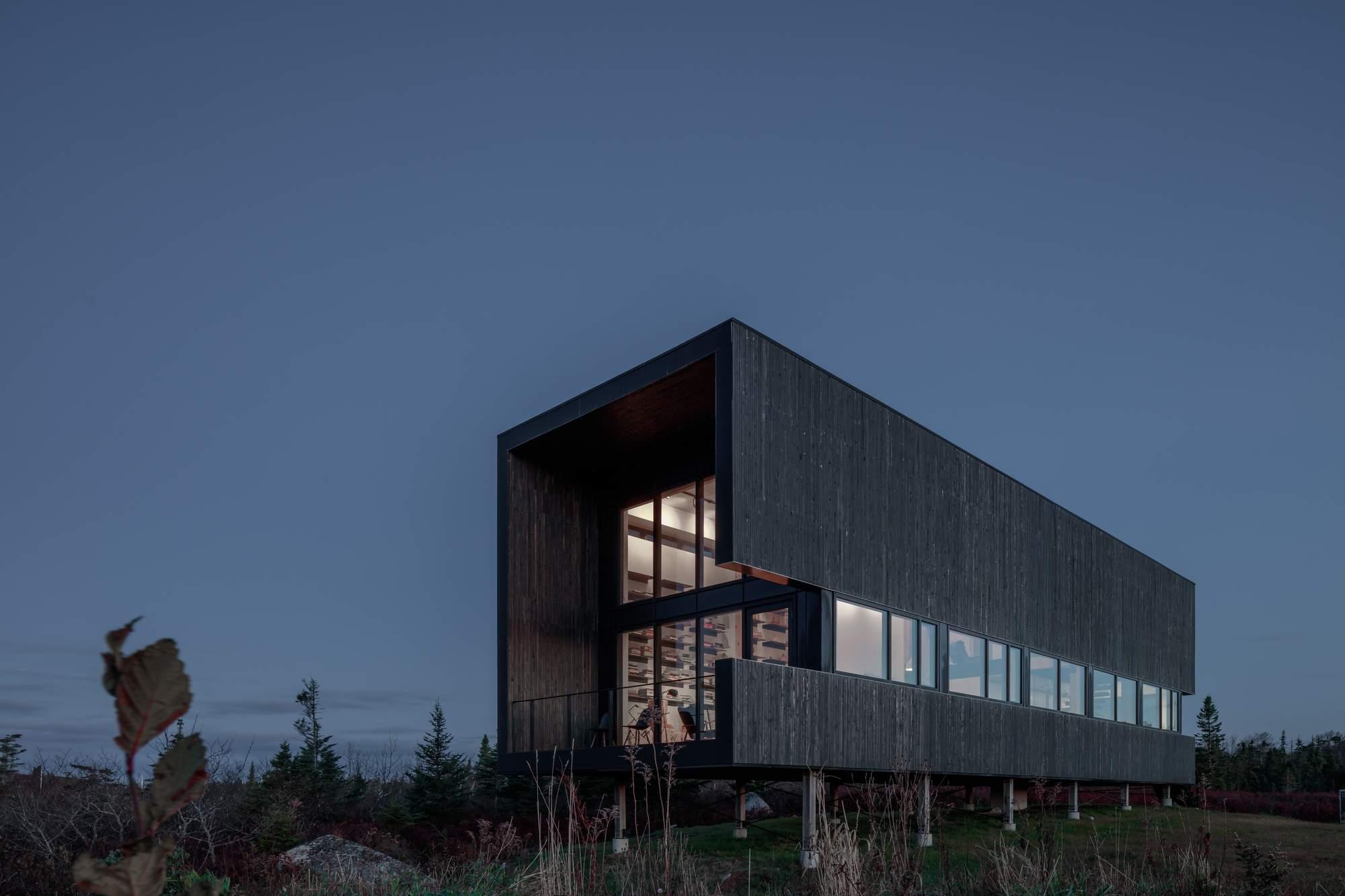 Дом с офисом архитектора Питера Брейтуэйт, Канада