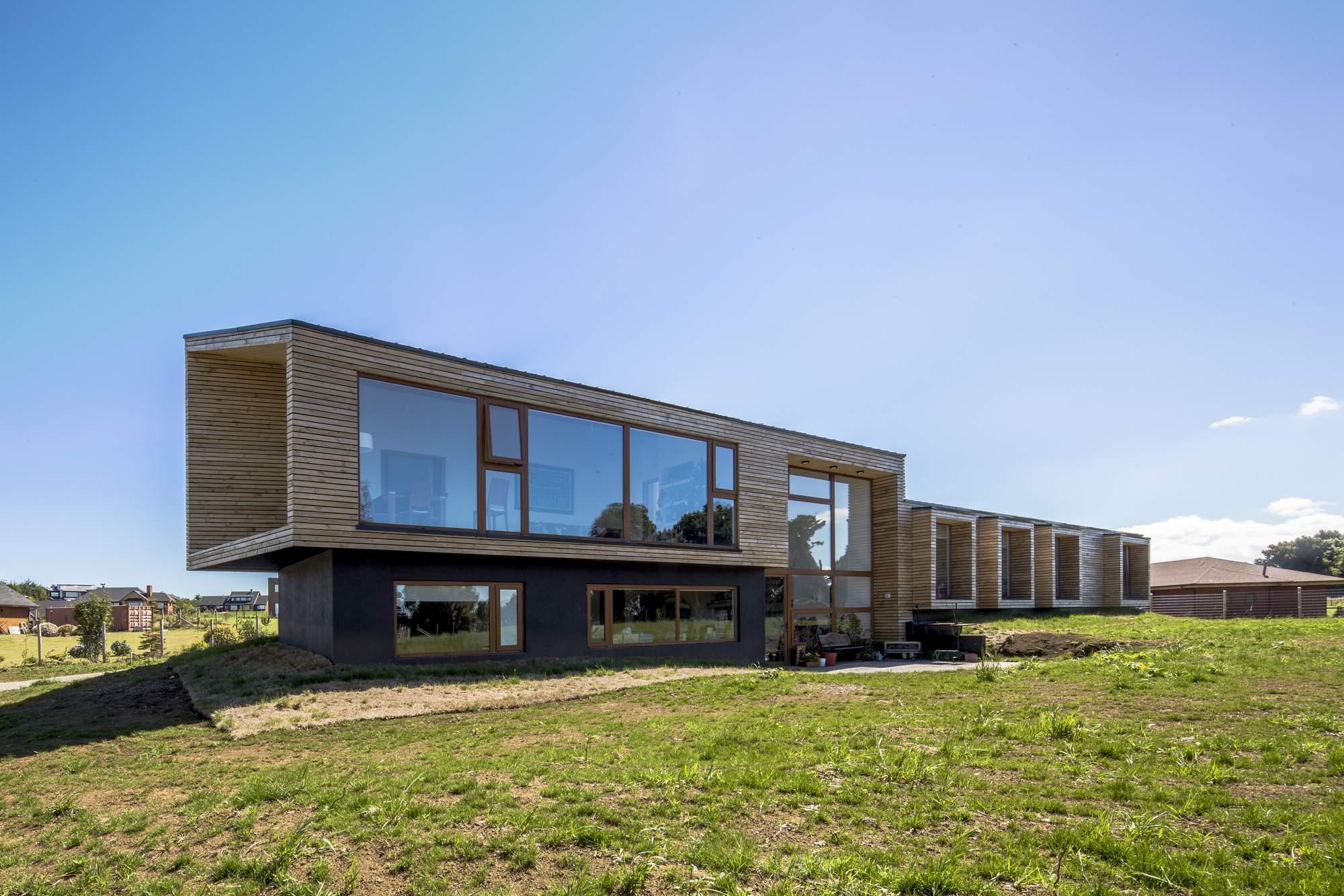 Семейный дом VF House в Чили