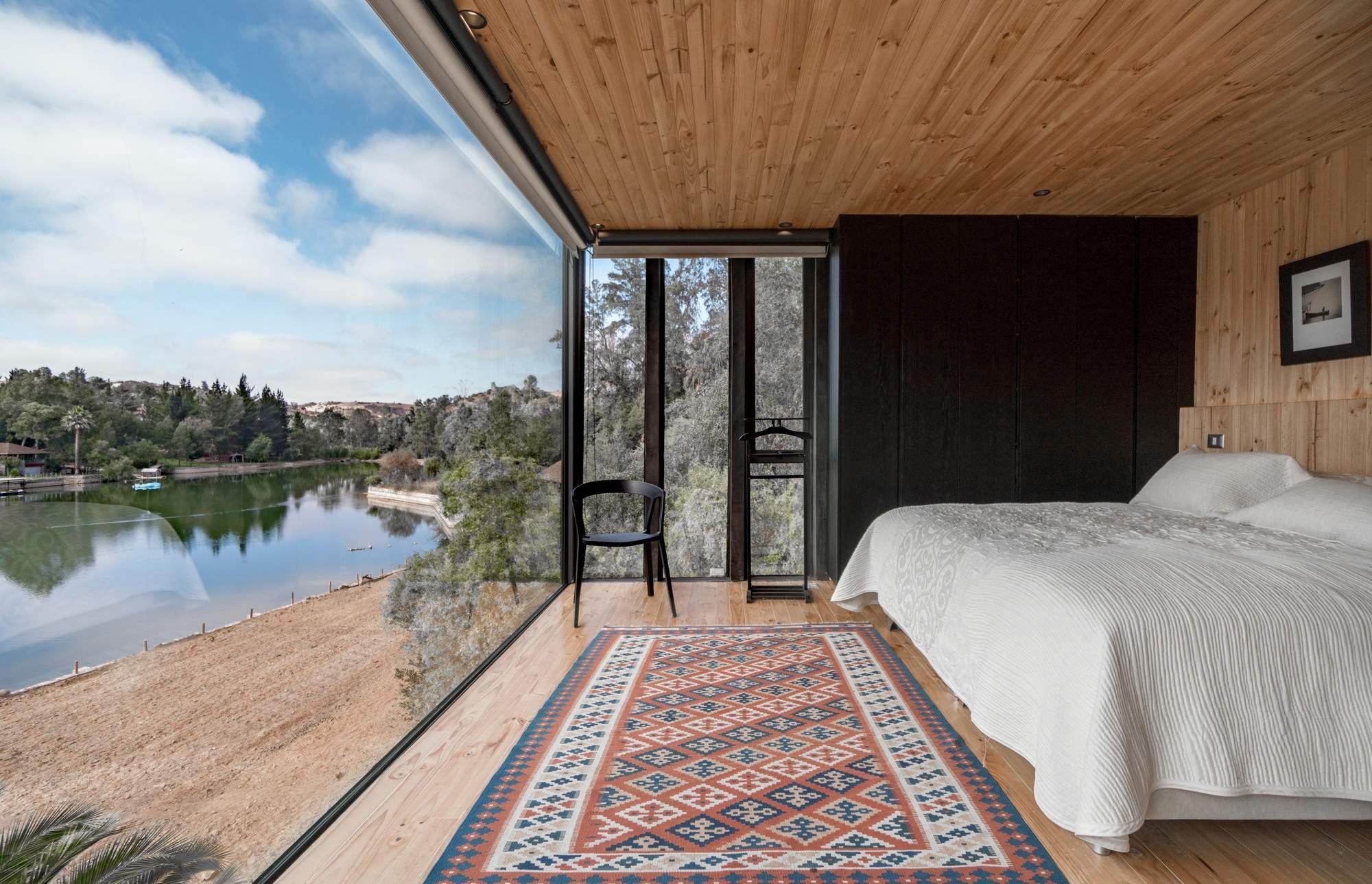 Дом на склоне, Чили