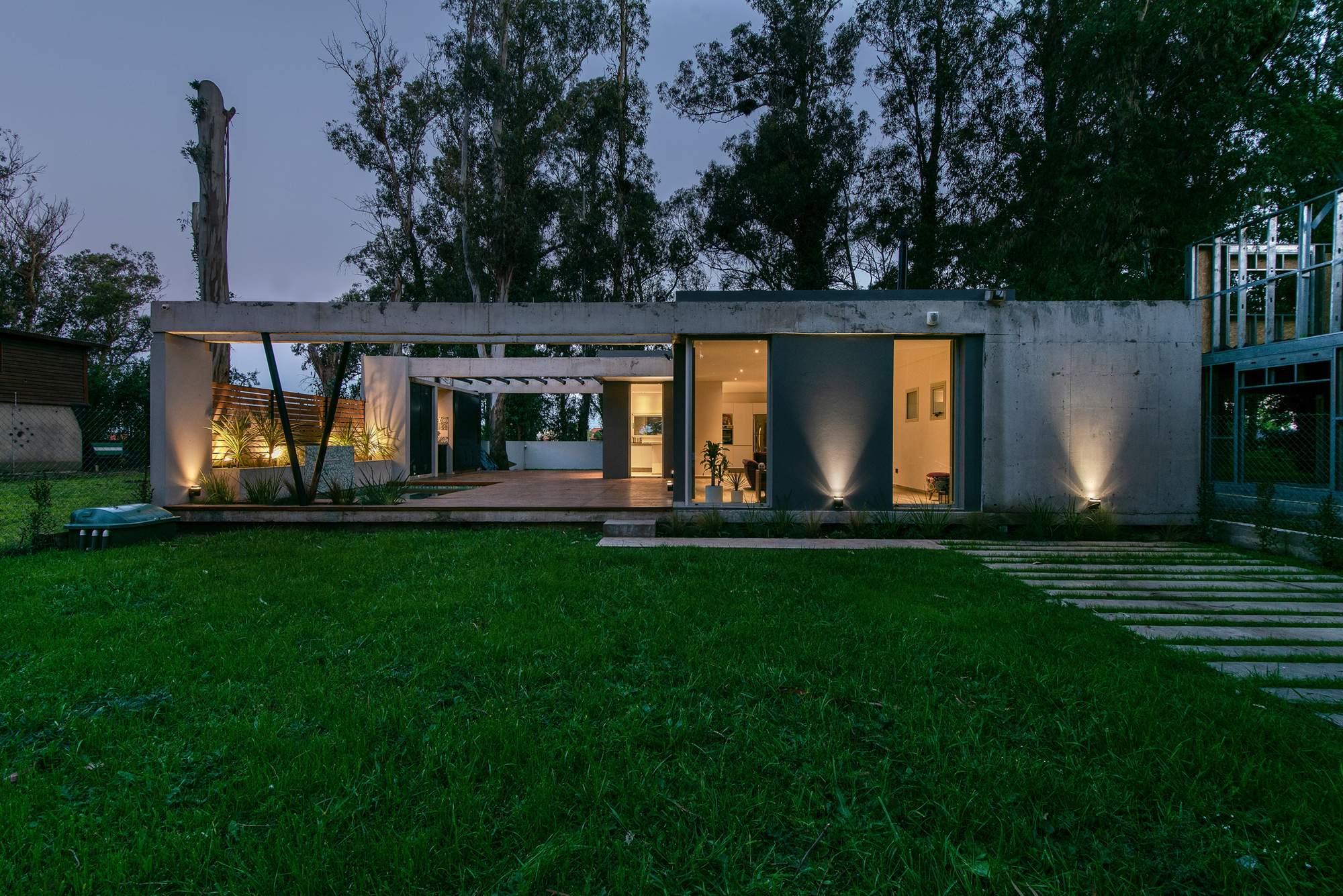Дом с современной эстетикой, Аргентина