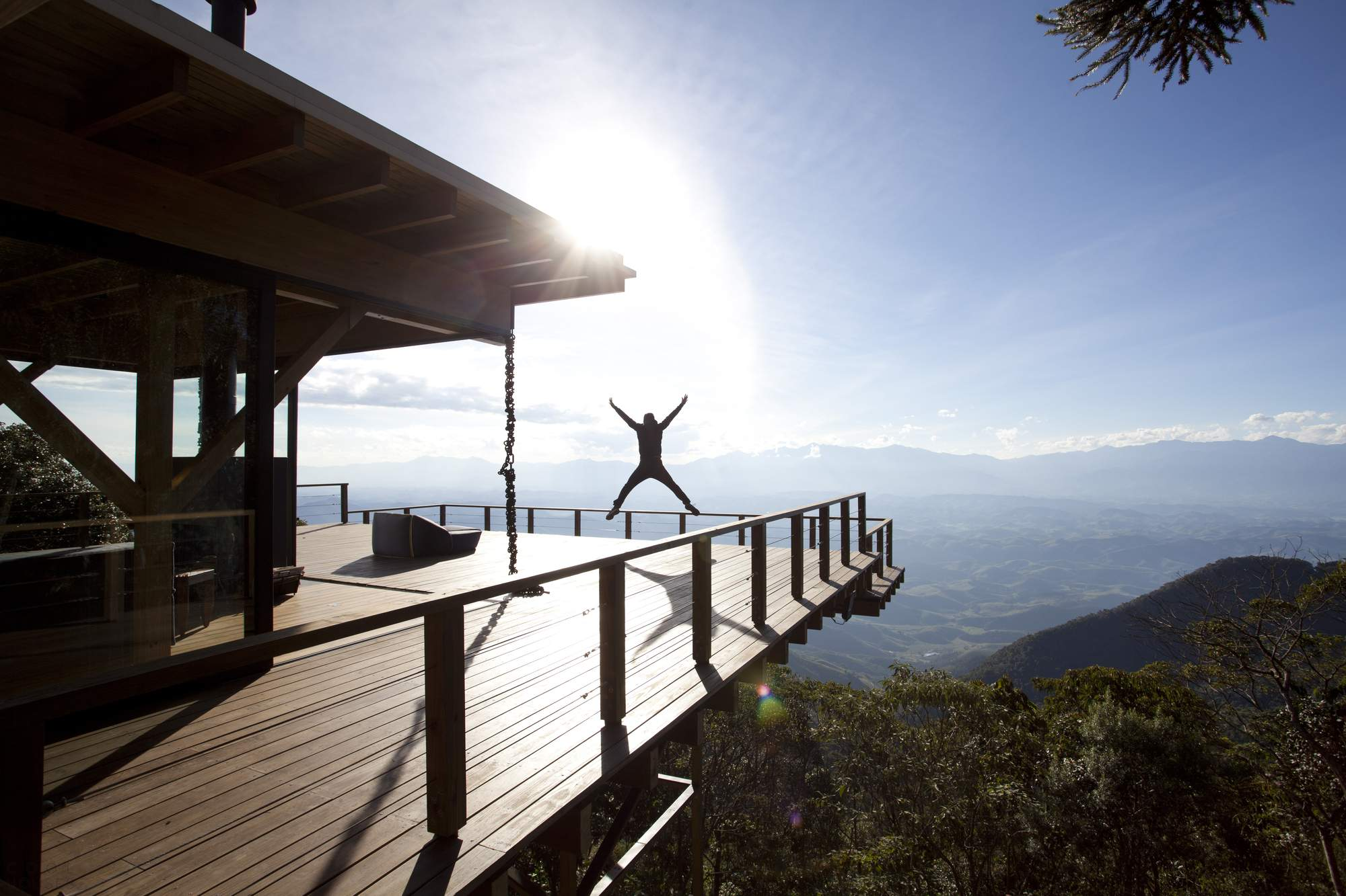 Дом-убежище с видом на Национальный парк, Бразилия