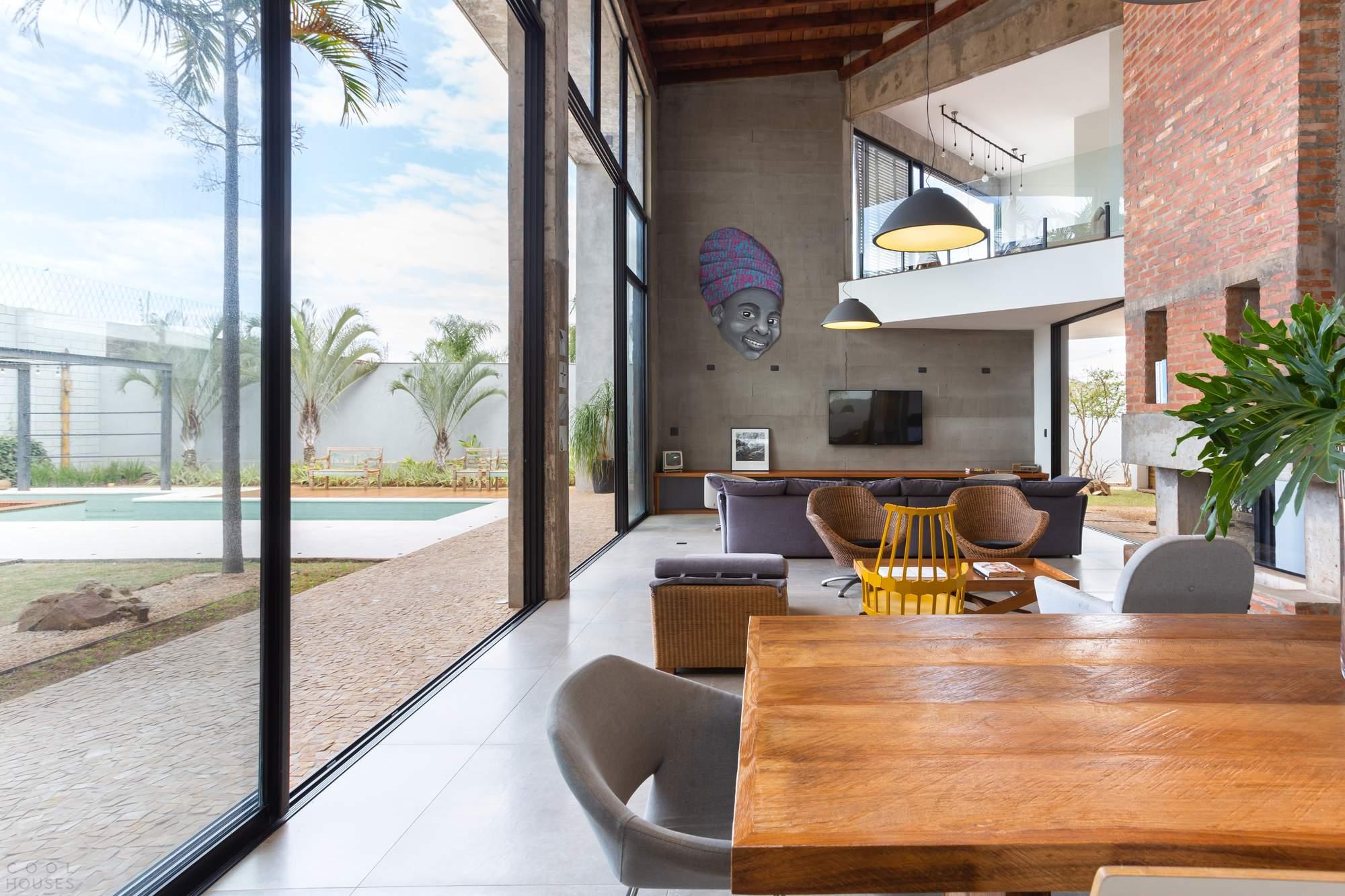Комфортный семейный дом F.P. House, Бразилия