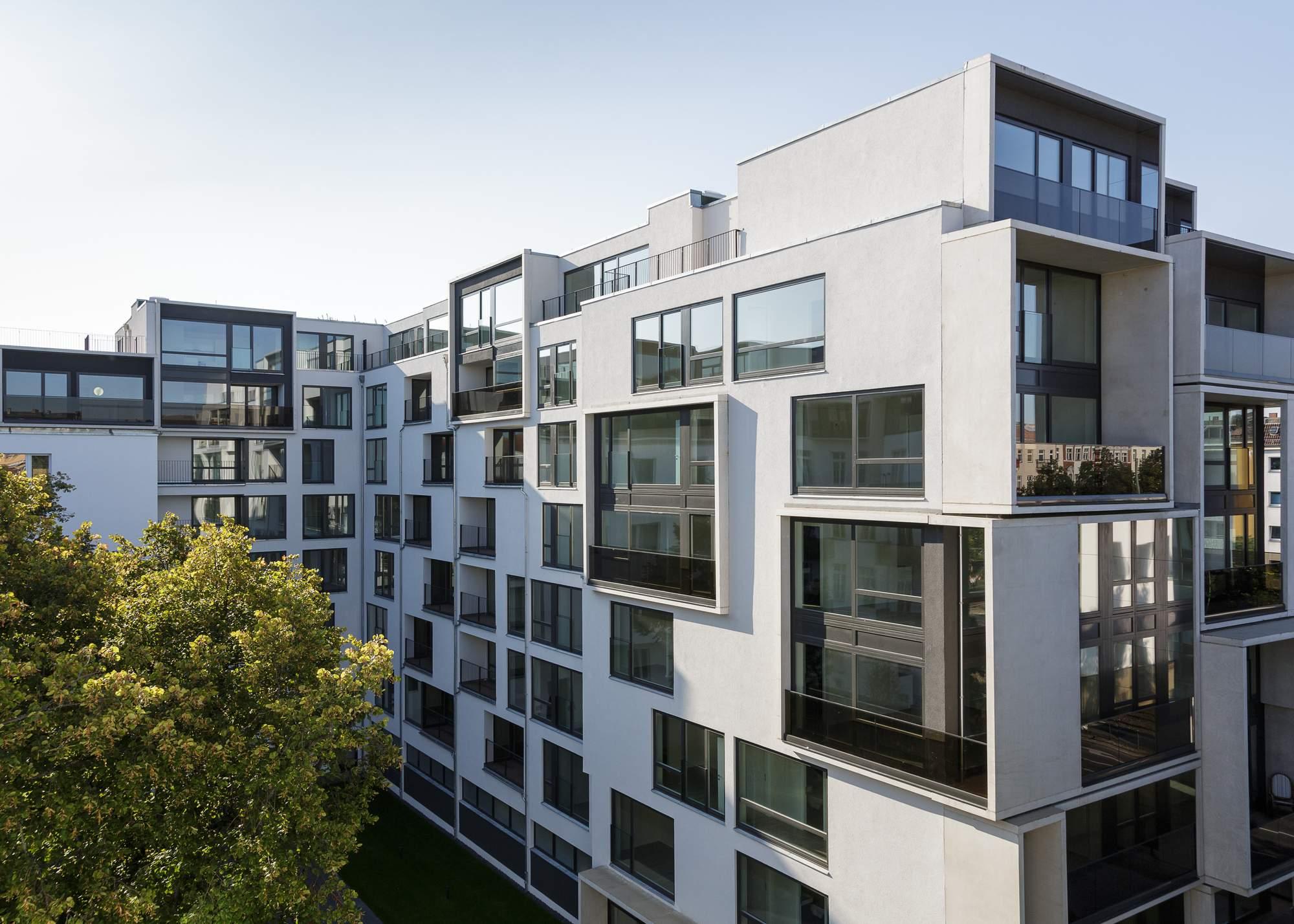 Комплекс апартаментов «Paragon» в Берлине, Германия.