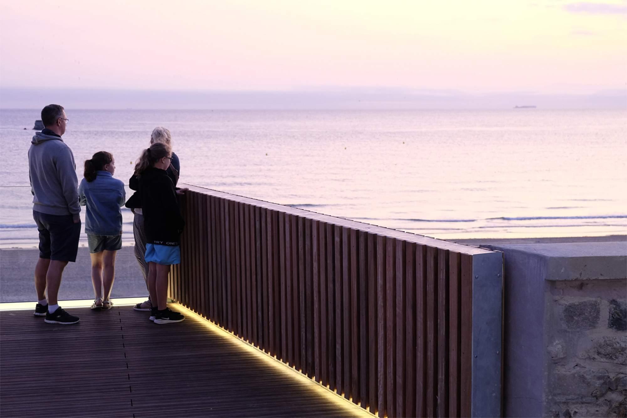Приморские Балконы с видом на пляж Портель, Франция