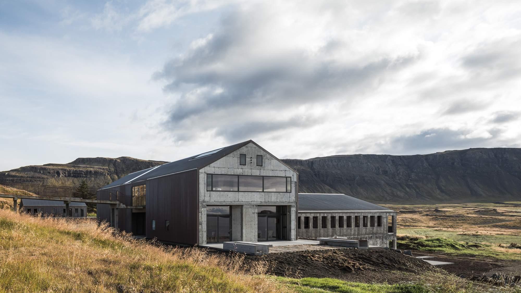 Реконструкция старой фермы в гостевой дом, Исландия