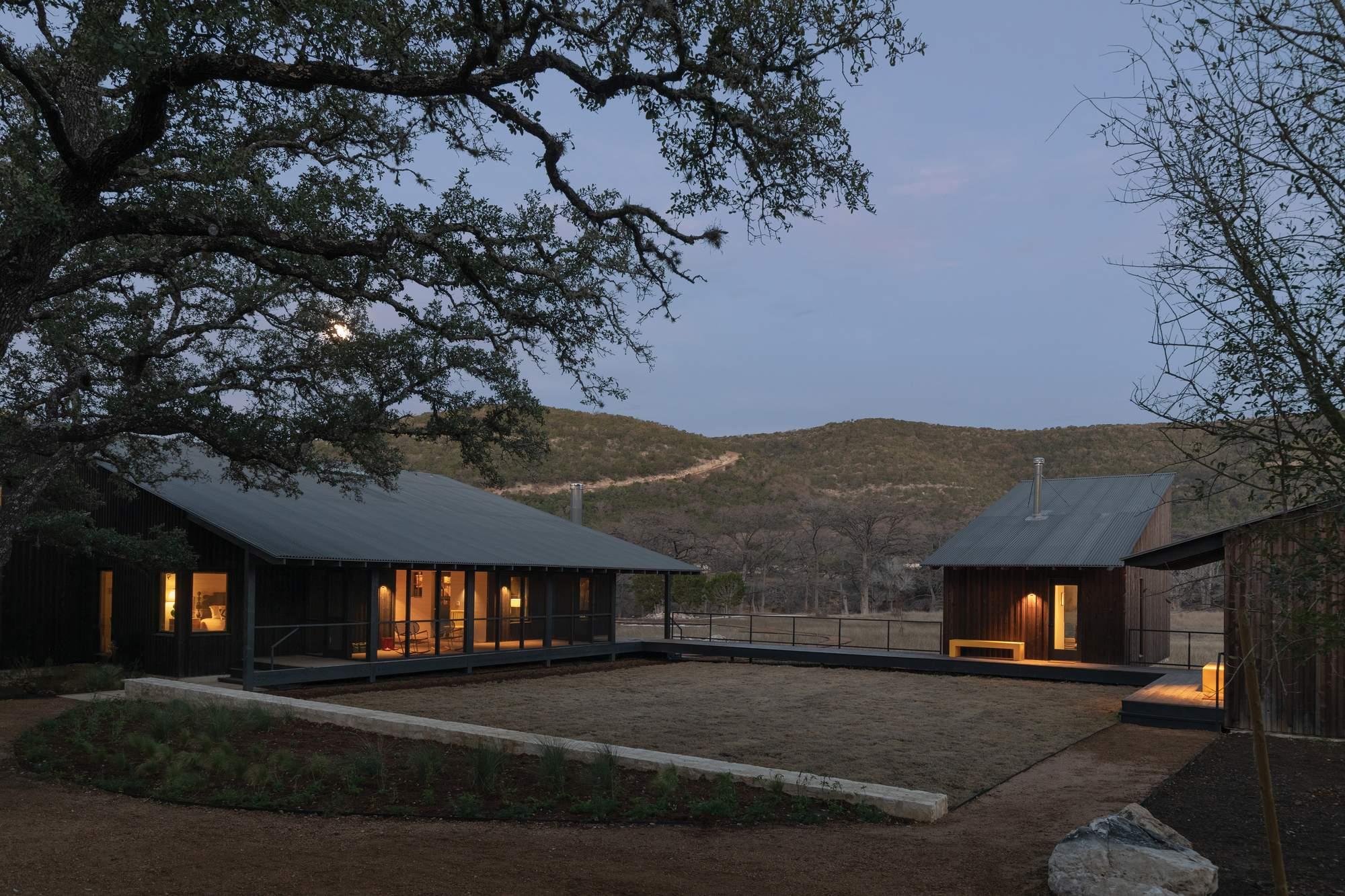 Семейный лагерь Frio в Техасе, США