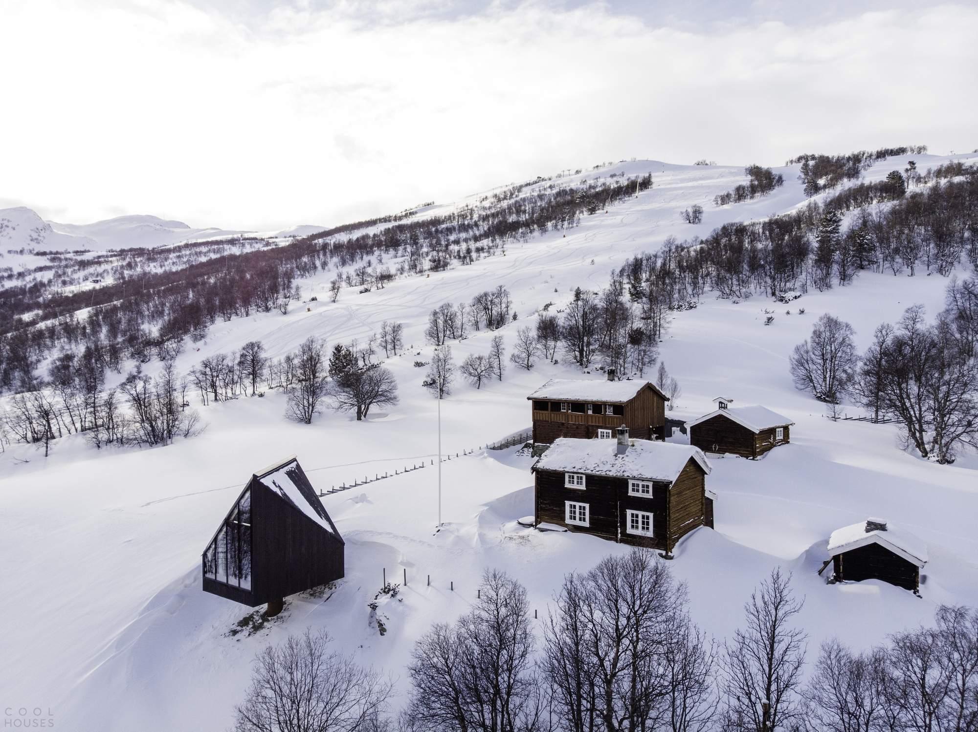 Мини-коттедж «Бриллиант» на горнолыжных склонах Норвегии