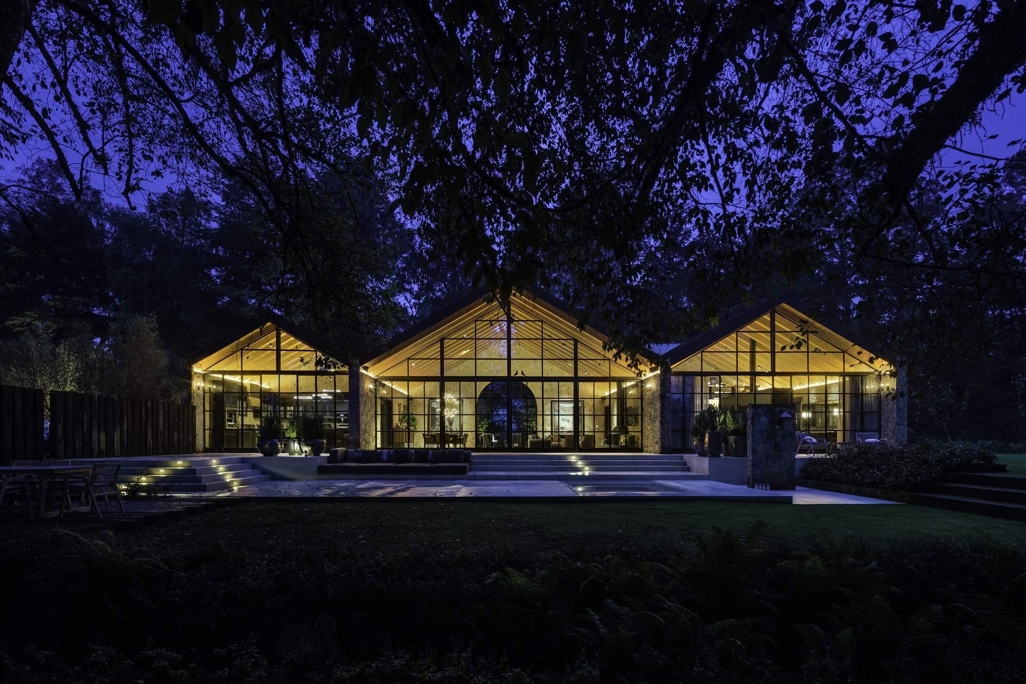 Ранчо в стиле классической асьенды, Мексика