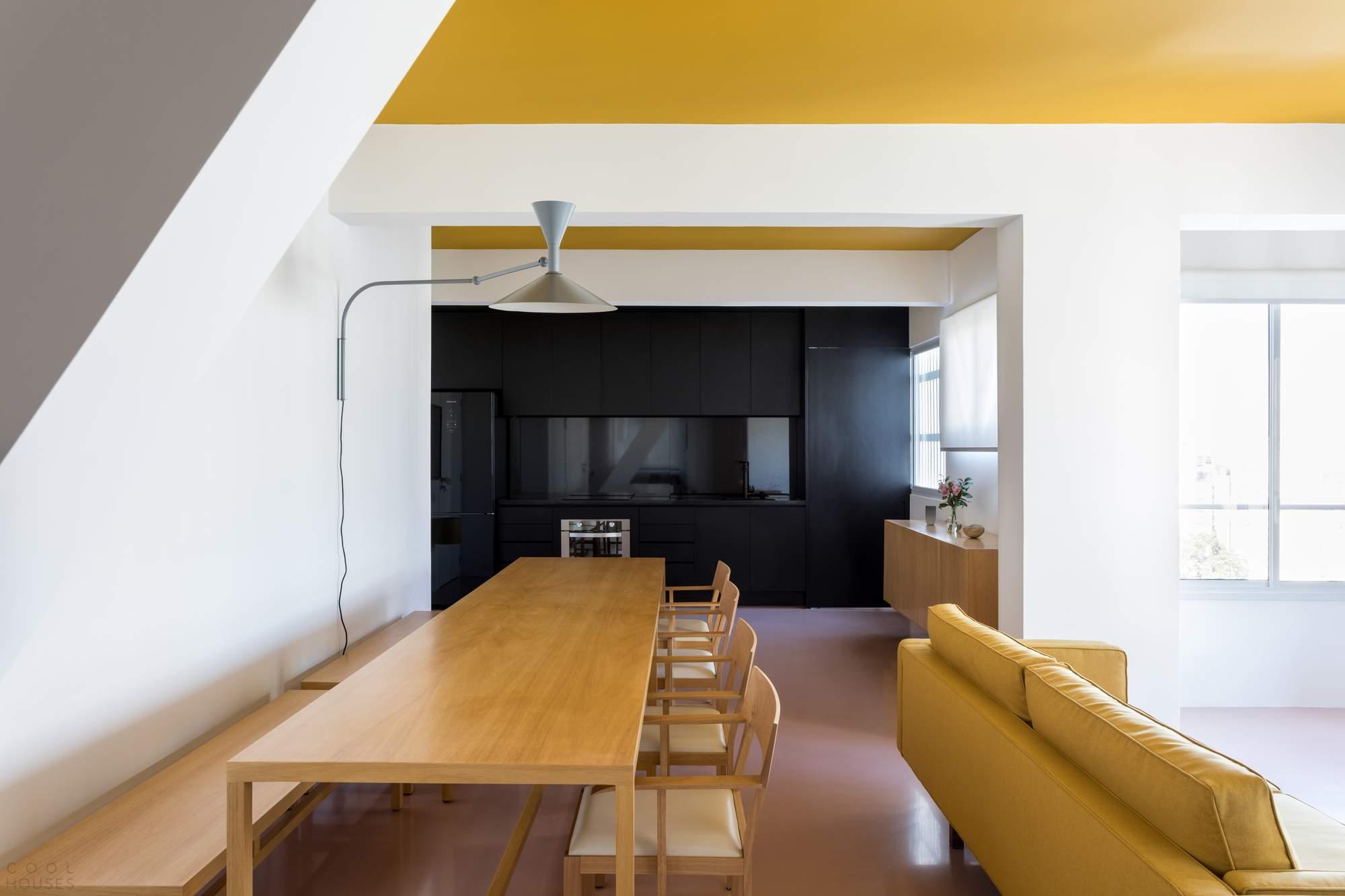 Солнечные минималистичные апартаменты, Бразилия